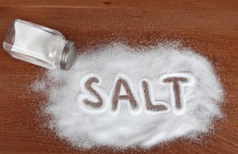 Sử dụng muối ăn